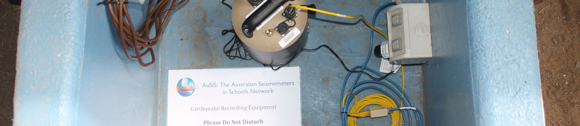 Seismometers in Schools