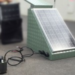 Solar Enclosure with sensor