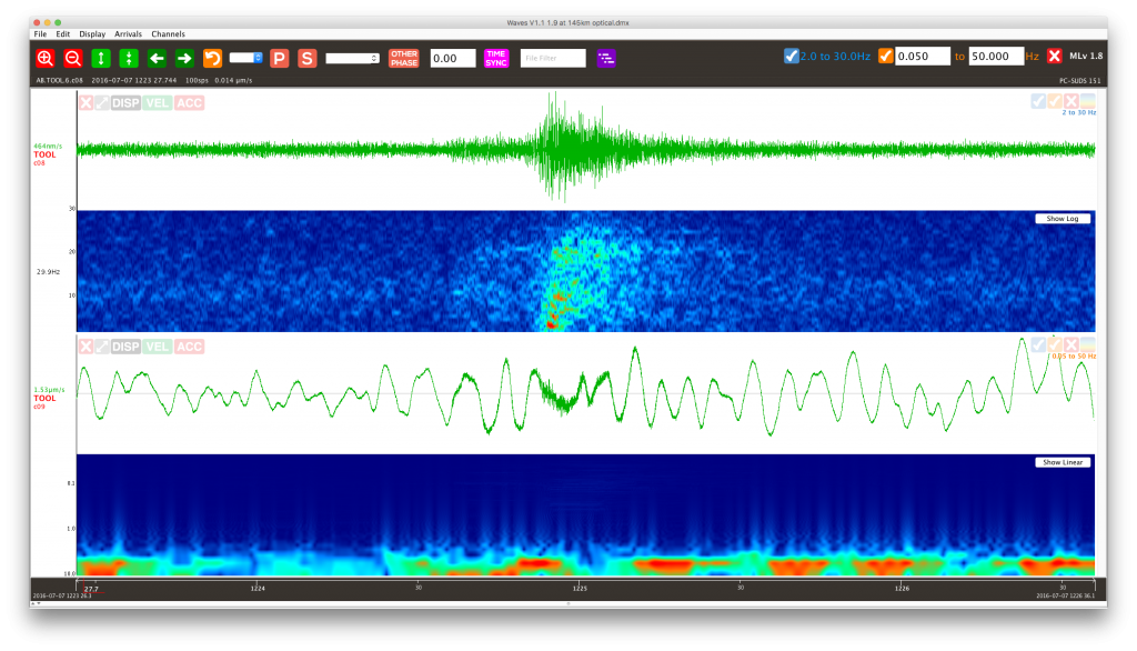 Free Earthquake Analysis Software – Seismology Research Centre