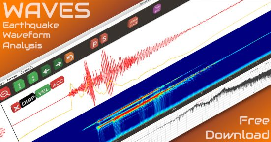 Waves – Free Earthquake Analysis Software